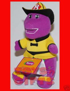 New 10 Barney Plush Doll Stuffed Toy w Tag