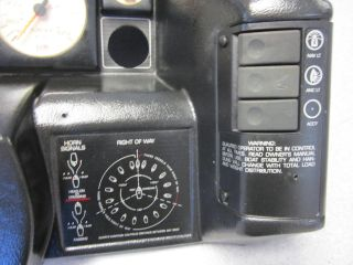 1992 Bayliner Capri U s Marine Dash Panel Switches Gauges