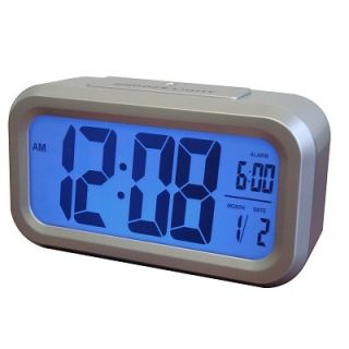 Westclox Large LCD Display Battery Digital Alarm Clock with Automatic