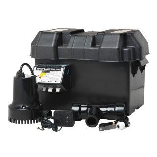 Wayne 12V Battery Powered Backup Sump Pump System ESP15