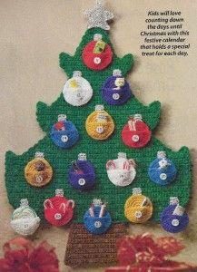 73X Crochet Pattern for Christmas Advent Calendar Countdown Beginner