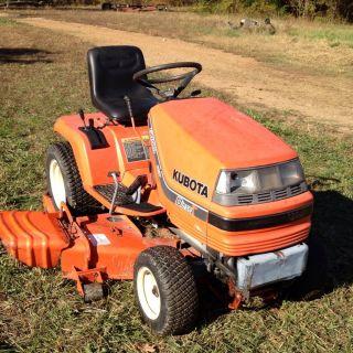 Kubota G1800 Lawn Tractor Mower