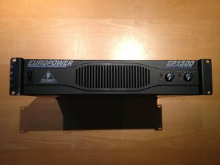 Behringer OPOWER Power Amplifier w User Manual
