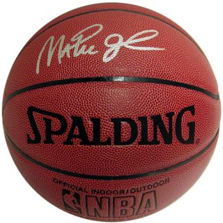 Magic Johnson Autographed NBA I O Basketball MSRP $374 99