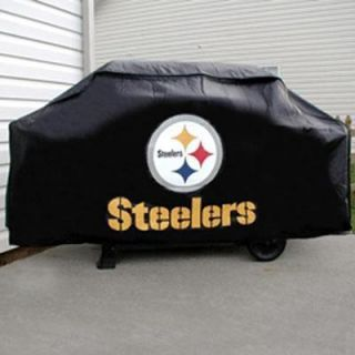 Pittsburgh Steelers Deluxe Heavy Duty Barbeque BBQ Grill Cover NFL