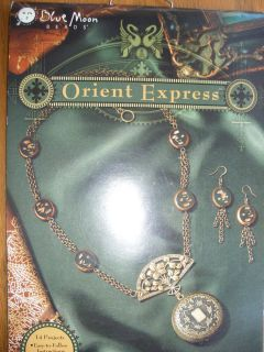 Beading Book Blue Moon Beads Orient Express