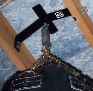 Bag Rafter Beam Hanger Bracket Steel Hanging Wall Hook Ceiling Swivel