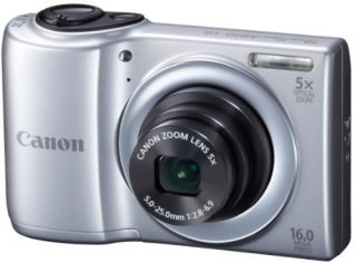Canon PowerShot A810 AA batteries 5x optical zoom digital camera