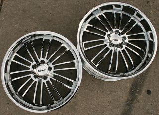 19 Chrome Rims Wheels BMW E39 E60 5 Series 19 x 8 0 9 5 5H 20