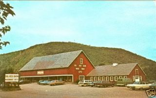 Big Red Barn Antiques Bellows Falls VT Old Cars