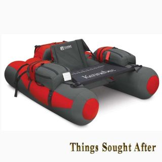 Pontoon Float Tube Inflatable Watercraft River Belly Boat