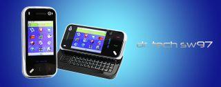 Tech SW97 Touch Screen Slider Quadband Cell Phones No Battery