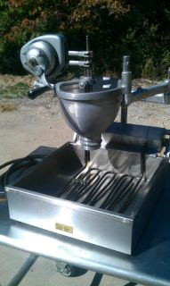 Belshaw Countertop Donut Fryer and Type N Dropper