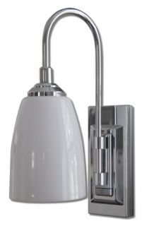 Lite LPL780C Battery Operated 9 LED Classic Chrome Wall Sconce