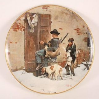 Giovanni Battista Quadrone BACK FROM HUNTING on Pickard China