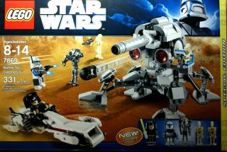 Lego Star Wars Battle Lego 7869 Battle for Geonosis Limited Edition