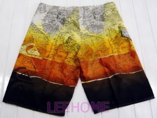 Mens Surf Board Shorts Swimming Beach Pants QS131 SIZE34 36 38