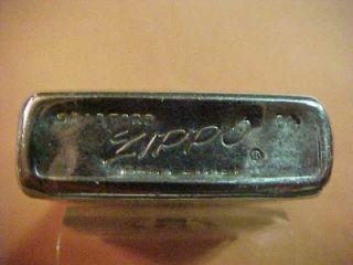 Graphic 1964 Zippo Lighter Promoting Bechtel Corporation