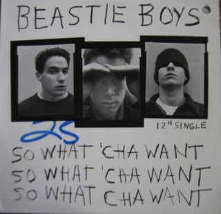 Beastie Boys So What Cha Want 12 Single Grand Royal