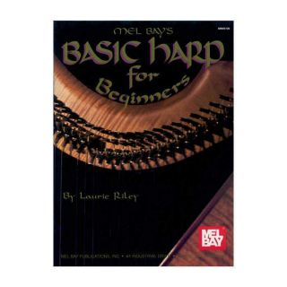 MEL BAYS BASIC HARP FOR BEGINNERS BOOK 2772