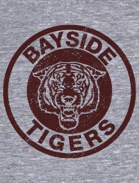 Bayside Tigers Vintage Saved by The Bell American Apparel TR401 Track