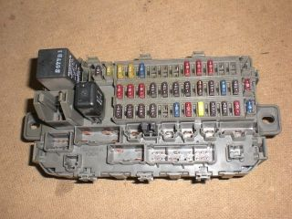 96 97 98 99 00 Honda Civic Interior Under Dash Fuse Box w Fuses