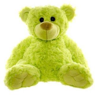 Teddy Bear Lime Green 32cm Baby Shower Christmas Gift