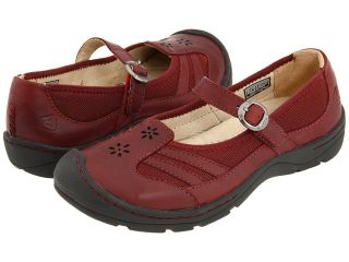 Keen Paradise MJ Mary Jane Leather Womens Madder Brown