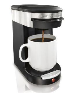 New Hamilton Beach Personal Cup Coffee Maker 1 Cup Pod Brewer w 18