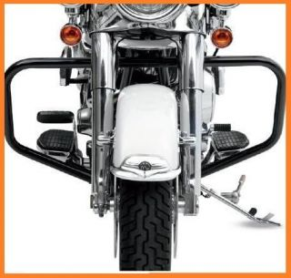 BLACK LINDBY HIGHWAY BARS CRASH BARS 2000 2012 SOFTAIL NEW LINDBY