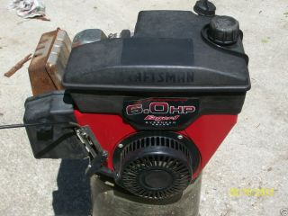 HP  Craftsman Horizontal shaft engine runs great Go Kart log