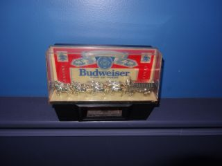 VINTAGE BUDWEISER BEER WORLD CHAMPION CLYDESDALES CASH REGISTER BAR