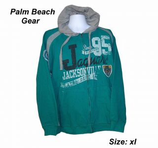 Jacksonville Jaguars NFL Retro Hooded Sweatshirt XL Hot List CLOSEOUT