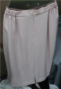 Womens Nah Nah Dressy Pink Crepe Satin 2 PC Suit Mature Bride Mob MOG