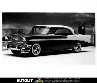 1956 Chevrolet Bel Air Sport Coupe Factory Photo