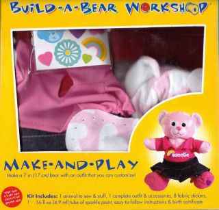 Sweetheart Bear Make Play Build A Bear Workshop
