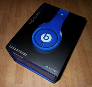 High Definition Monster Beats by Dre Studio Headphones Blue