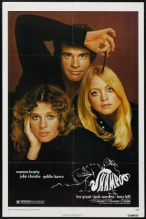 Shampoo 1975 Warren Beatty Julie Christie Goldie Hawn