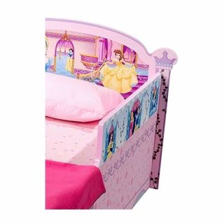 delta disney princess wooden toddler bed model no bb86622ps