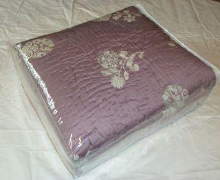 Martha Stewart Bellport Garden Lavender Queen Coverlet