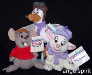 Disney The Rescuers Bianca Bernard Orville Stuffed Plush Bean Bag 8