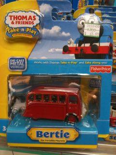 Thomas Friends Take Along Bertie Bus Take N Play New
