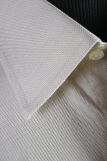 New Ike Behar Long Sleeve Cotton Dress Shirt 16 5 32 Tan