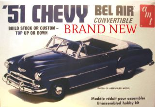 1951 Chevy Bel Air Convertible Model Kit Brand New