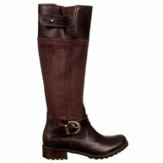 Womens Timberland Bethel Riding Boots Bitter Chocolate Brown Leather 6