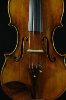 Fine Italian Violin labeled Gustavo Belli c 2002 4 4 old antique model