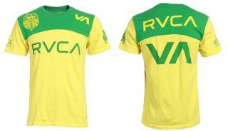 RVCA Vitor Belfort XL t shirt NWT UFC Fighter Brazilian flag design