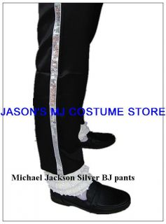 Michael Jackson Sequin Billie Jean Full Outfit Costume