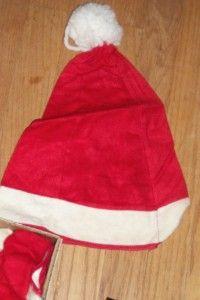 Vintage Ben Cooper Inc   Santa Claus Suit   Costume + Box   Complete X