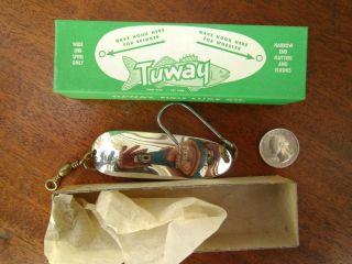 Tuway Metal Spoon Fishing Lure Berkley CA Musky Saltwater Lure